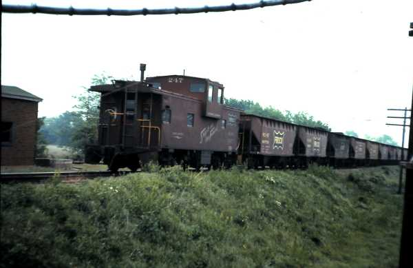 Caboose 247 (date and location unknown)