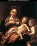 Virgin And Child With An Angel (Madonna Del Latte)