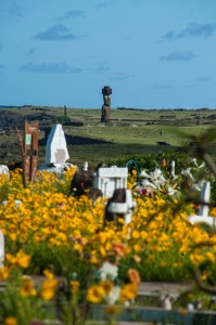 Easter Island Cemetary