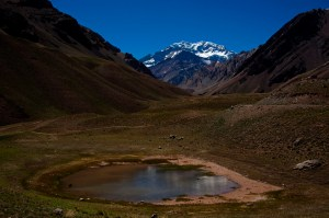 Valley View of Aconcagua