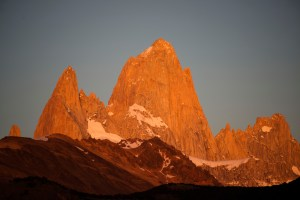 Cerro Fitzroy in morning light