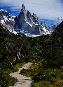 Cerro Torre and path 2