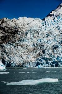 Front of Upsala Glacier