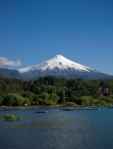 Villarica from Pucon