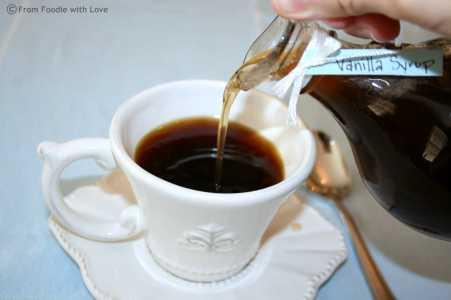 Vanilla Coffee Syrup