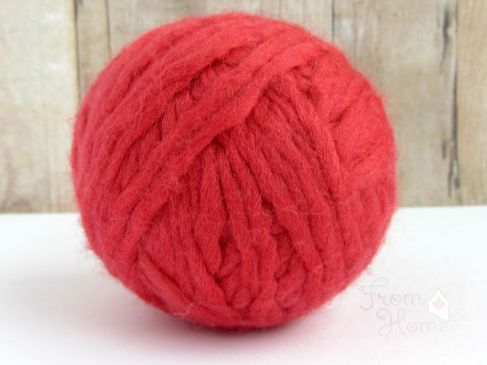 Laundry DIY: Making Dryer Balls | From Home Crochet