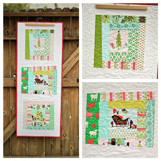 Alpine Wonderland Table Runner Quilts