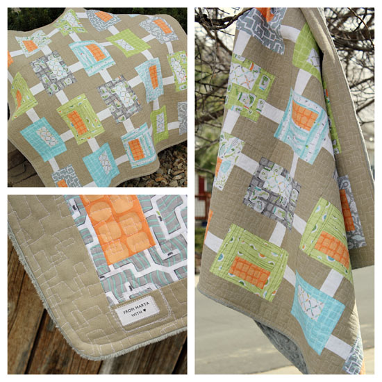 Backyard Boy Quilt Quilts