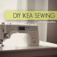 DIY IKEA Sewing Table Tutorial