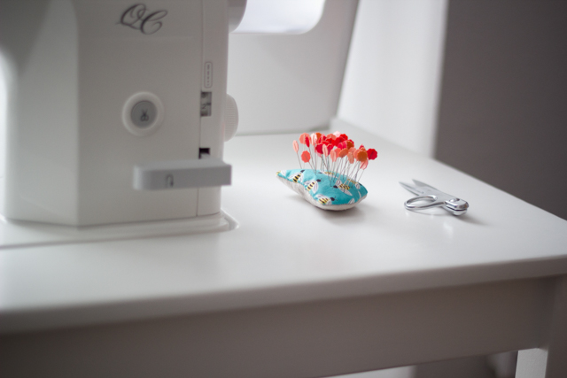 DIY IKEA Sewing Table Tutorial - from Marta with Love