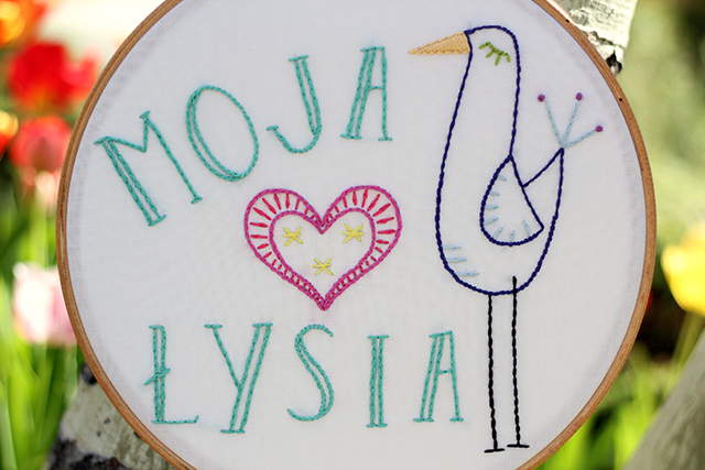 Mother's Day Embroidery - from Marta with Love