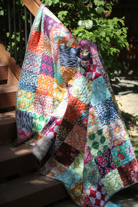 Field Study Patchwork Quilt From Marta With Love