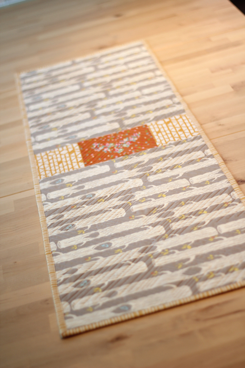 Fall Table Runner | from Marta with Love