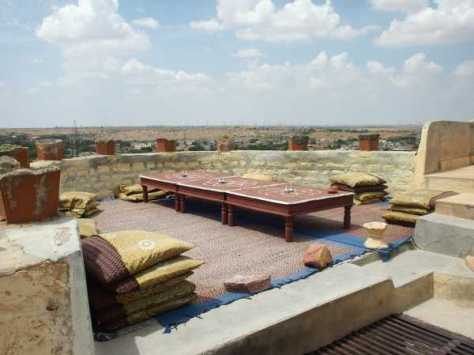 This rooftop in Jaisalmer was a gem. We had fun evenings up here enjoying the cool night air and good view.