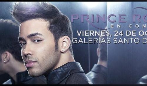 Concierto de Prince Royce en Nicaragua 2014