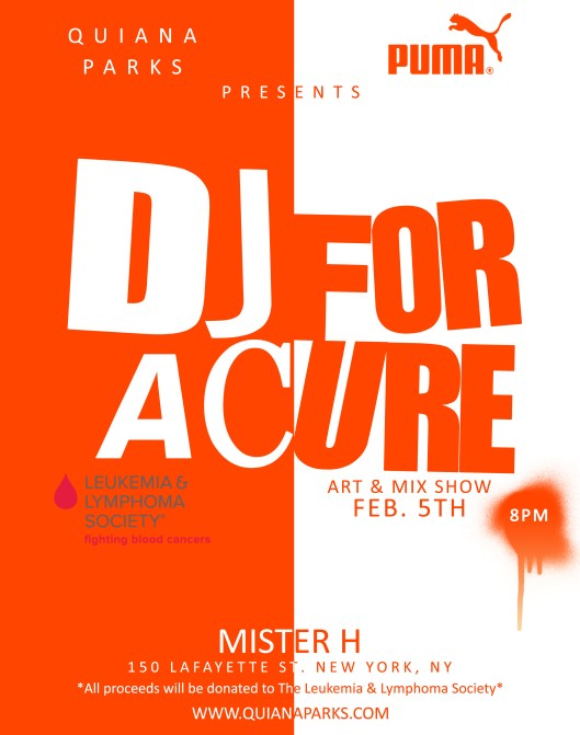 DJ For A Cure
