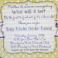 """""""What will it Bee? """" ~ Gender Reveal Party"""