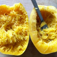 day twenty-four: spaghetti squash