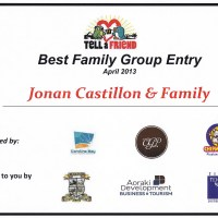 South Canterbury - Tell a Friend Best Family Group Entry