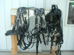 Amish Biothane Draft Team Harness