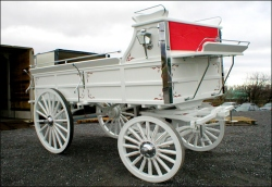Robert Carriages Draft Horse Hitch Wagon