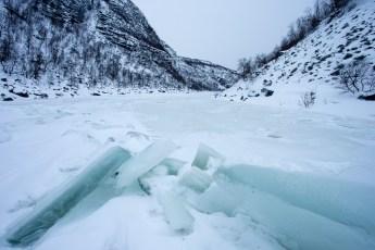 The Frozen Alta River