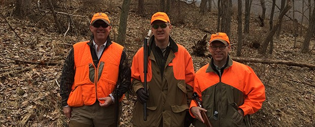 Woodmont Lodge: A Fun Day with Clients in the Field!