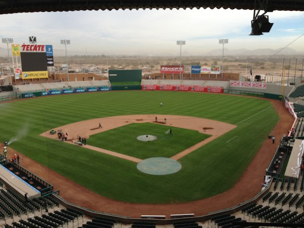 Estado Sonora stadium in Hermosillo, Mexico. (ESPN)