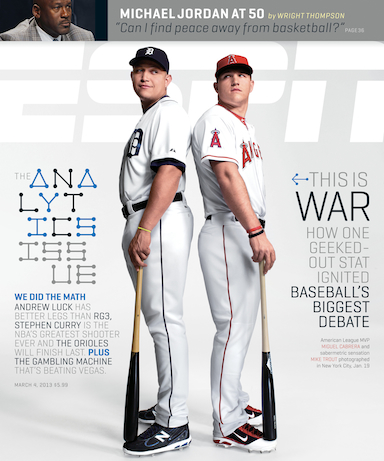ESPN The Magazine: The Analytics Issue