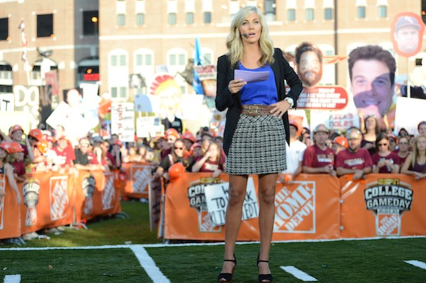 ESPN&#039;s Samantha Ponder (Allen Kee / ESPN Images)