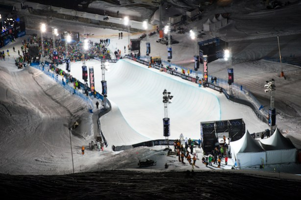 The Superpipe at X Games Tignes 2013 (Phil Ellsworth / ESPN Images)