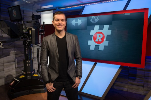 Alfredo Lomeli on the set of Redes. (Rich Arden / ESPN Images)