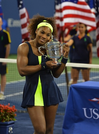 Serena Williams during the 2012 US Open. (Scott Clarke / ESPN Images)