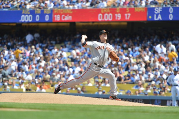 Matt Cain is scheduled to be the Giants starting pitcher against the (Scott Clarke / ESPN Images)
