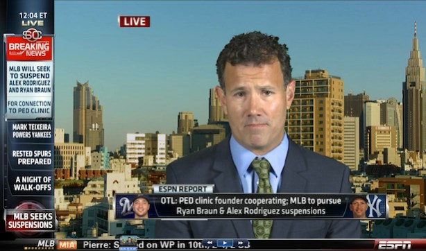 T.J. Quinn on SportsCenter live from Tokyo on June 5
