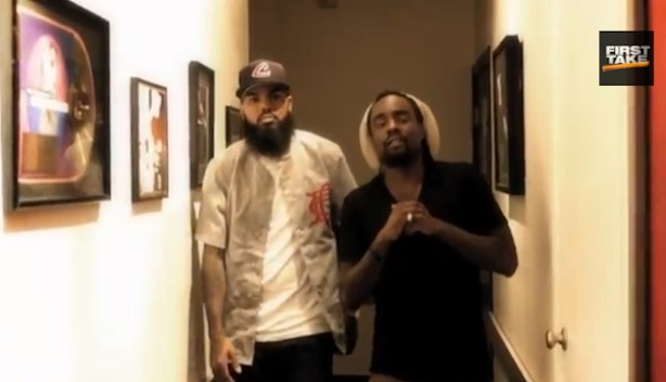 "Stalley and Wale created the First Take theme song, ""Every Word Great"""