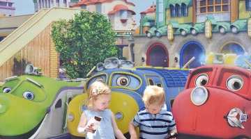 Chuggington Train at Baltimore Railroad Museum Cutest Kids Ever