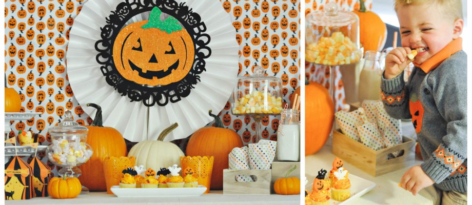 Halloween Ideas for Kids – Cute Pumpkin Party!