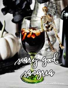 Halloween Party Cocktails- Spooky Sangria