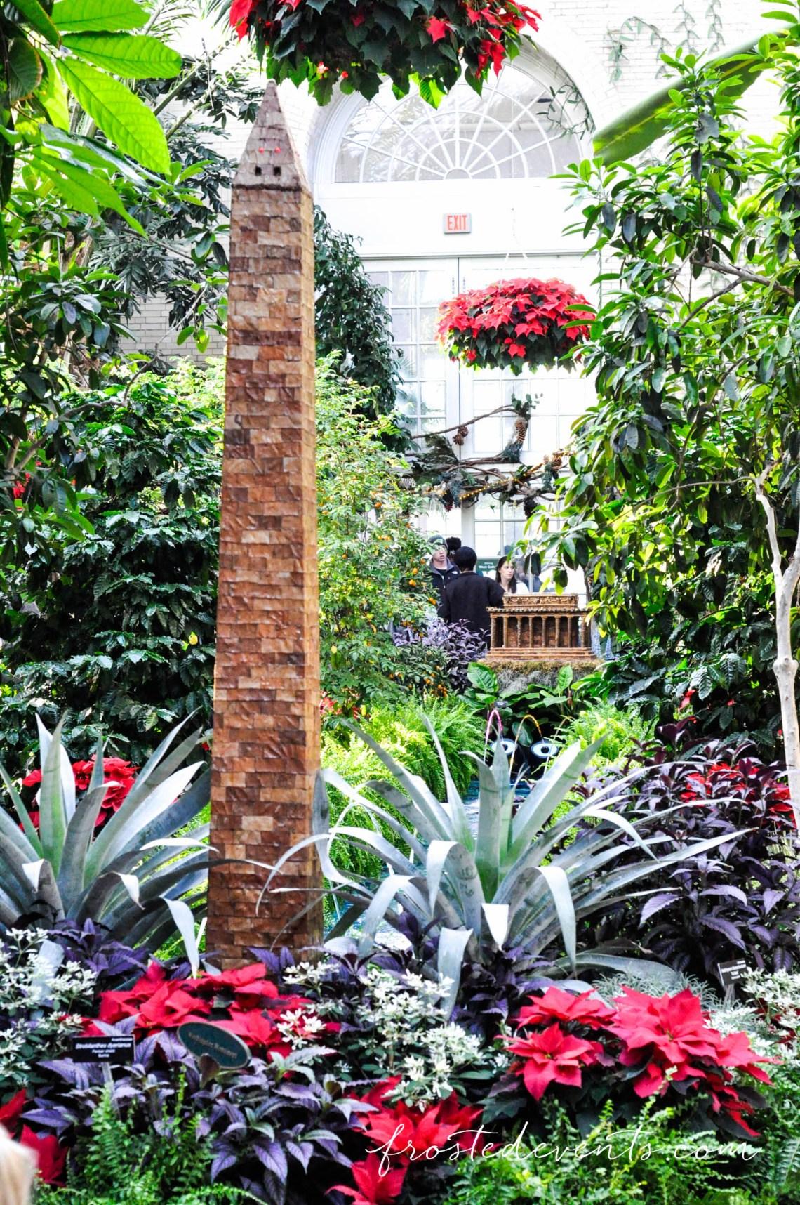 Washington Dc Attractions Christmas At The Us Botanic Gardens