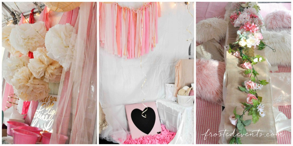 Bohemian party ideas for a birthday bridal shower or baby shower boho