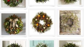Gift Wreaths Fresh and Faux Holiday Decor the More the Merrier
