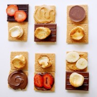 Seven Fun Twists on S'mores; Peanut Butter Cup, Chocolate Chip Cookie, Nutella, and More