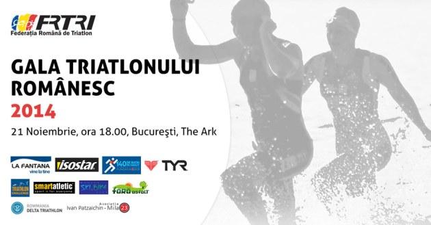 Gala Triatlonului Romanesc 2014