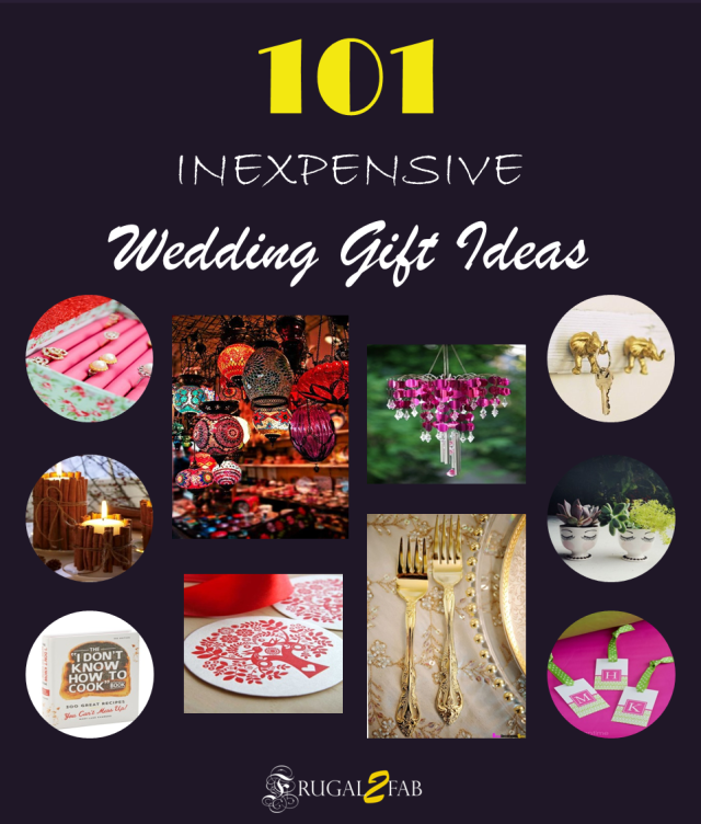 Wedding Gift List Next : 101 Inexpensive Wedding Gift Ideas coming up next ! - Frugal2Fab