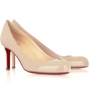 Louboutin patent leather pump