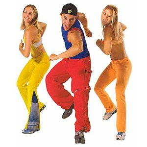 Zumba dancers - Gold's Gym