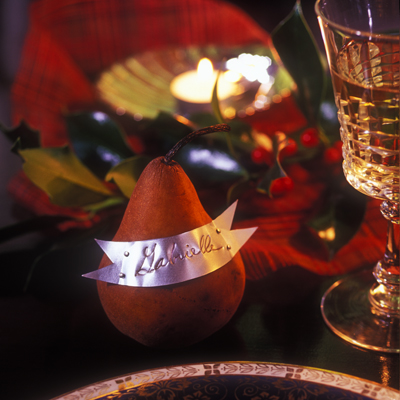 Pear Place Card - Martin Tessler