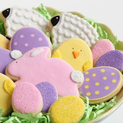 Handpainted Easter Cookies iStock