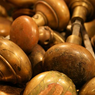 Old Brass Doorknobs dreamstime_12720433